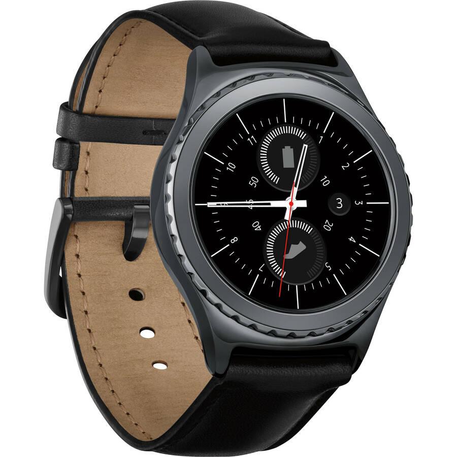 Samsung Gear S2 Classic Black Samsung Gear S2 Classic Smartwatch (Black)