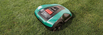 Bosch Indego 400 Connect robot lawn mower