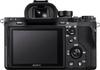 Sony Alpha 7R II digital camera rear