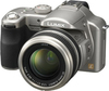 Panasonic Lumix DMC-FZ50 digital camera angle