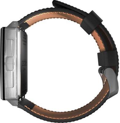 Pebble Steel Smartwatch Leather smartwatch